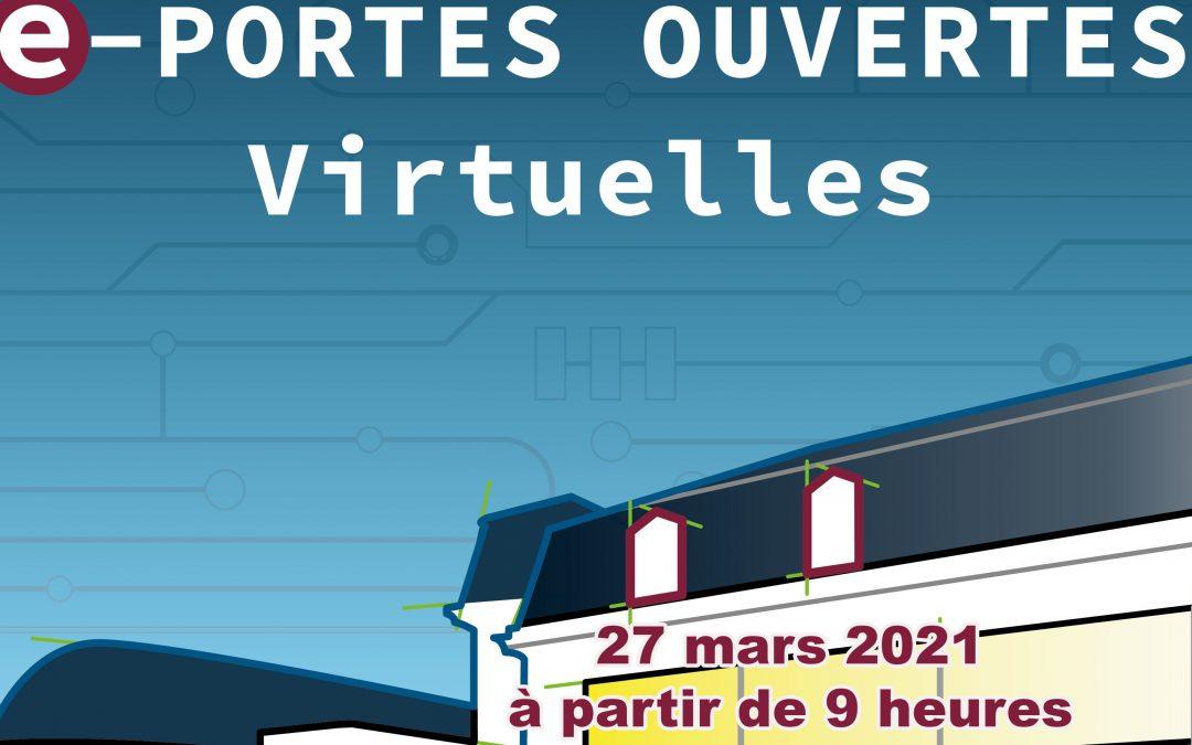 e-Journée Portes Ouvertes 2021