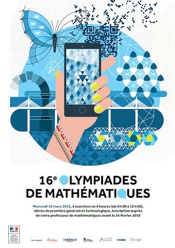 logo 16eme olympiades maths
